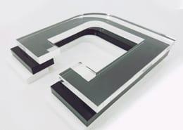 Acrylic glass (PMMA) 1