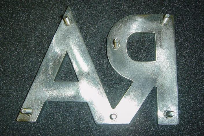 3D Buchstaben 7
