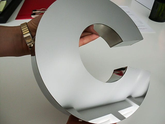 3D Buchstaben 14