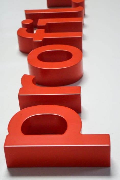 3D Buchstaben 18