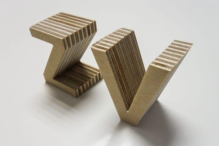 3D Buchstaben 22