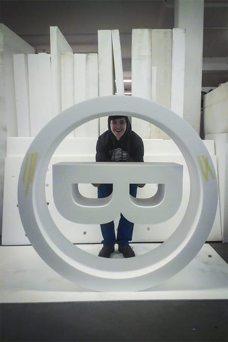 3D Buchstaben 23