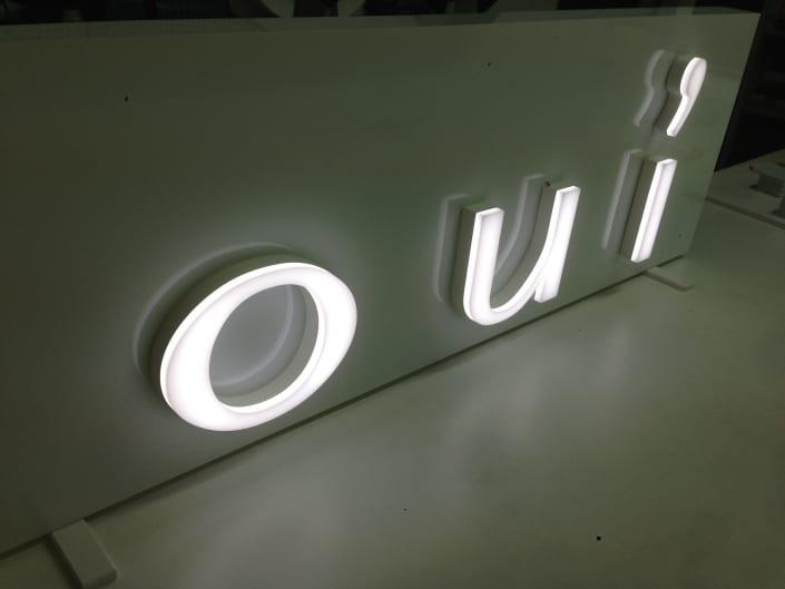 Illuminated advertising 2