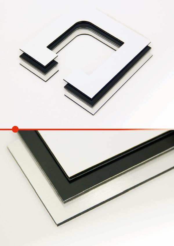 Aluminum composite / Dibond 1